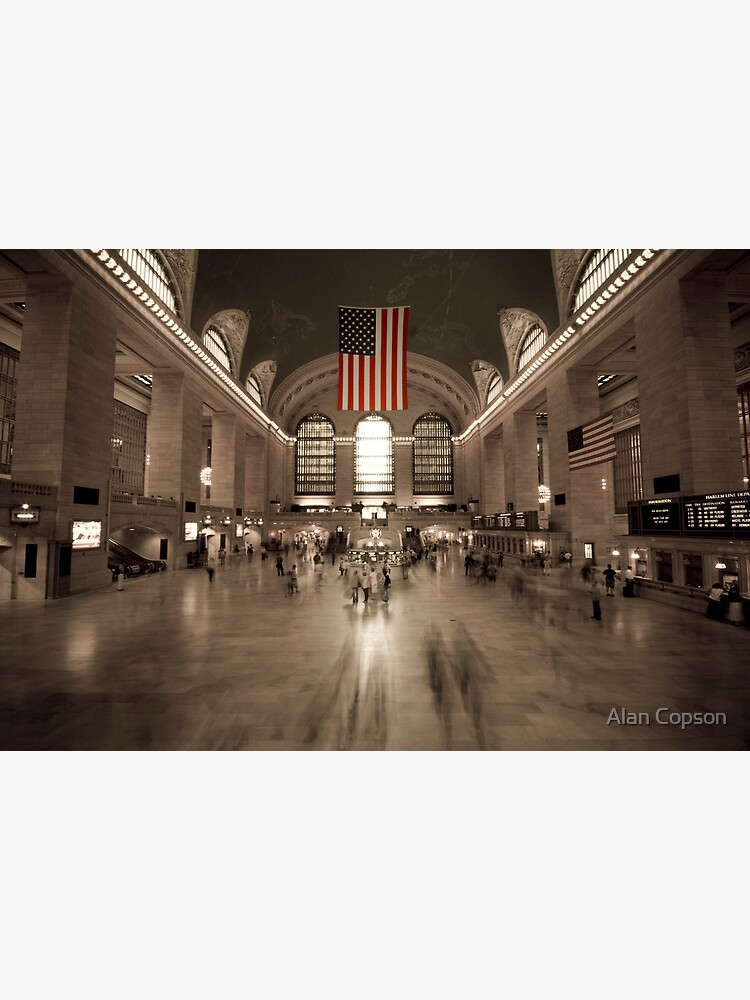 Grand Central Station - New York City by AlanCopson