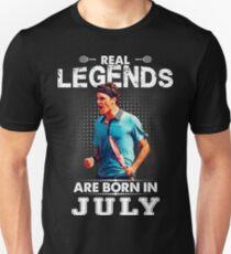Roger Federer july Legend Tshirt T-Shirt