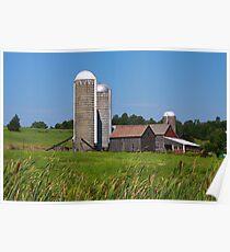 Middlebury Vermont Farm Poster