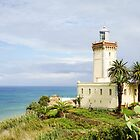 Cape Spartal Lighthouse at the Strait of Gibraltar - Tangier by Robert Kelch, M.D.