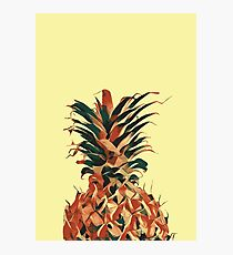Retro pineapple Photographic Print