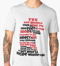 Oh the Places You'll Go Men's Premium T-Shirt