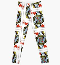 The Queen of Hearts Leggings