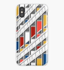 Architektur illustration le corbusier iPhone Case/Skin
