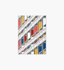 Architecture illustration le corbusier Art Board