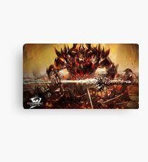 Guild Wars 2 - Balthazar Canvas Print