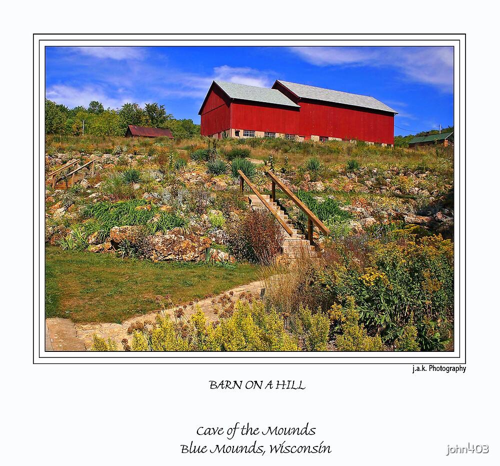 Barn on a Hill by john403
