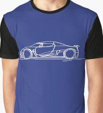 Koenigsegg Agera - Single Line Graphic T-Shirt