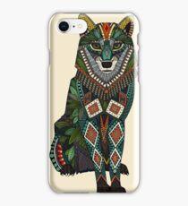 wolf ivory iPhone Case/Skin