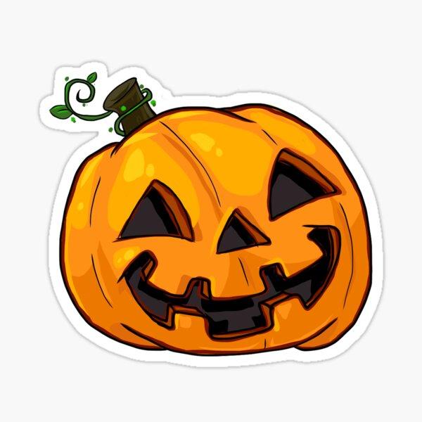 Cute Jack-o-lantern Sticker