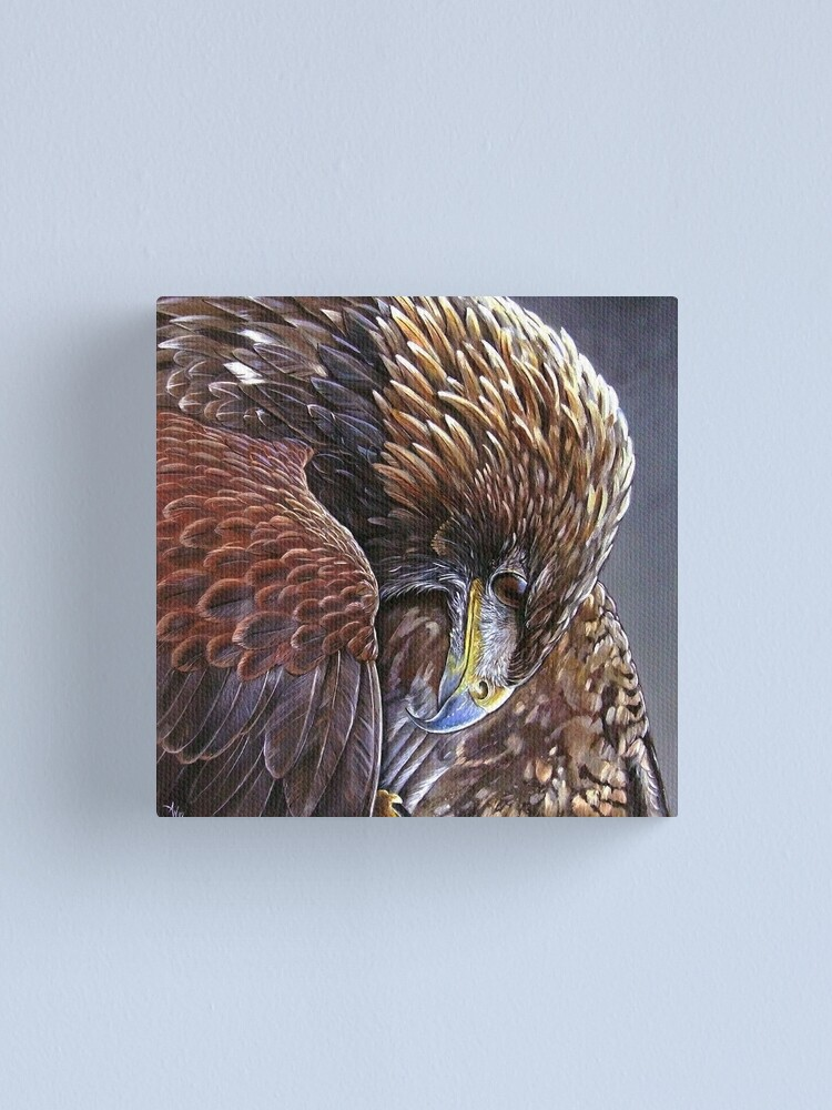 Alternate view of Golden Eagle Canvas Print
