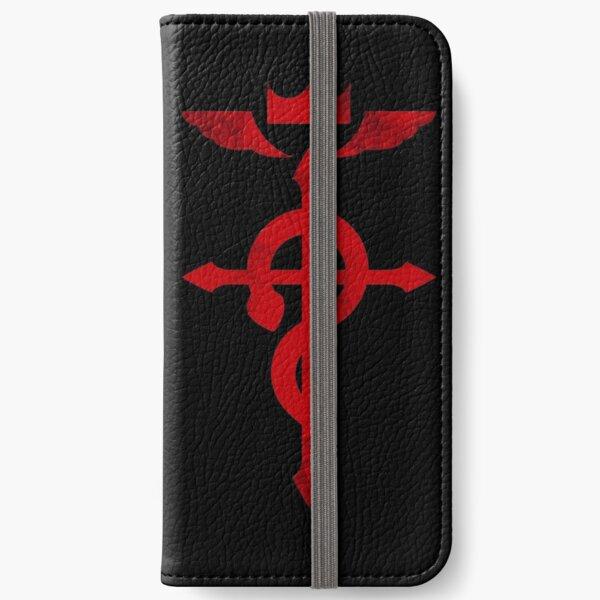 Fullmetal Alchemist Red Logo iPhone Wallet