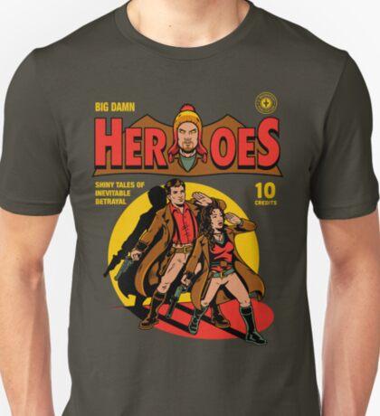 Heroes Comic T-Shirt