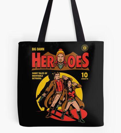 Heroes Comic Tote Bag