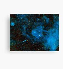 Deep Blue Space Canvas Print