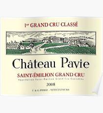 Chateau Pavie Poster