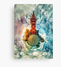 'Apostelkirche - 360º from Above' Canvas Print