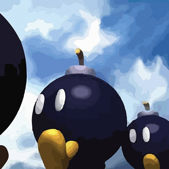 Quot Super Mario 64 Bob Omb Battlefield Quot Poster By Djsoublet