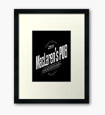 MacLaren's Pub Framed Print