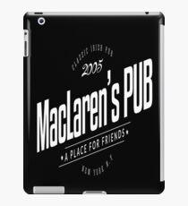 MacLaren's Pub iPad Case/Skin