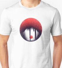 Scary Clown with red hair and nose from movie It  T-Shirt