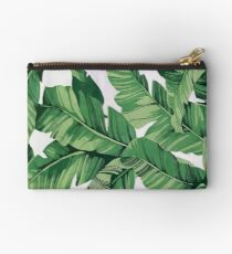Tropical banana leaves VI Studio Clutch