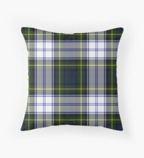 Gordon Dress Tartan Plaid Throw Pillow