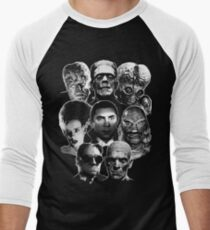 Universal Monster Gang Baseballshirt mit 3/4-Arm