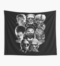 Universal Monster Gang Wall Tapestry