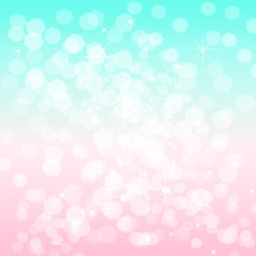 Turquoise and Pink Bokeh by julieerindesign