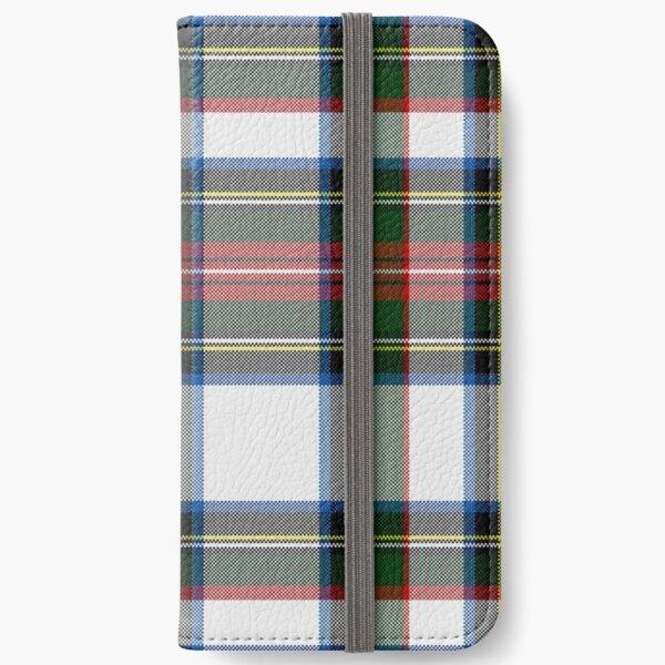 Clan Stewart Dress Tartan Plaid Pattern iPhone Wallet