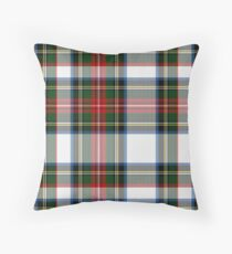 Clan Stewart Dress Tartan Plaid Pattern Throw Pillow