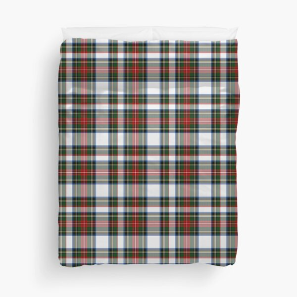 Clan Stewart Dress Tartan Plaid Pattern Duvet Cover