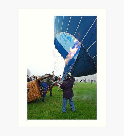 Canberra Balloon Fiesta Art Print