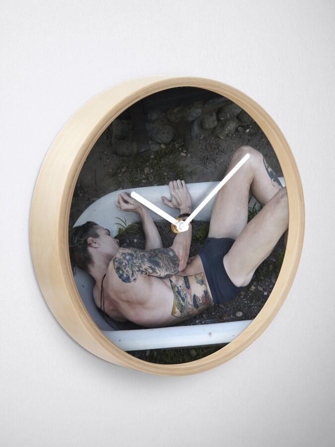 Alternate view of Porcelain Prisons Clock