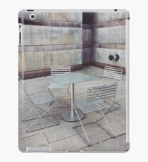 Table and Chairs – Crystal Bridges Museum iPad Case/Skin