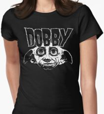 Dobby Band Shirt Women's Fitted T-Shirt