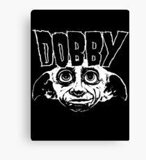 Dobby Band Shirt Canvas Print