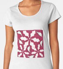 Feminine Floral Women's Premium T-Shirt