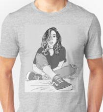 The Gabbie Show line drawing Unisex T-Shirt