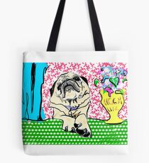 Heck Leben Mops Tote Bag