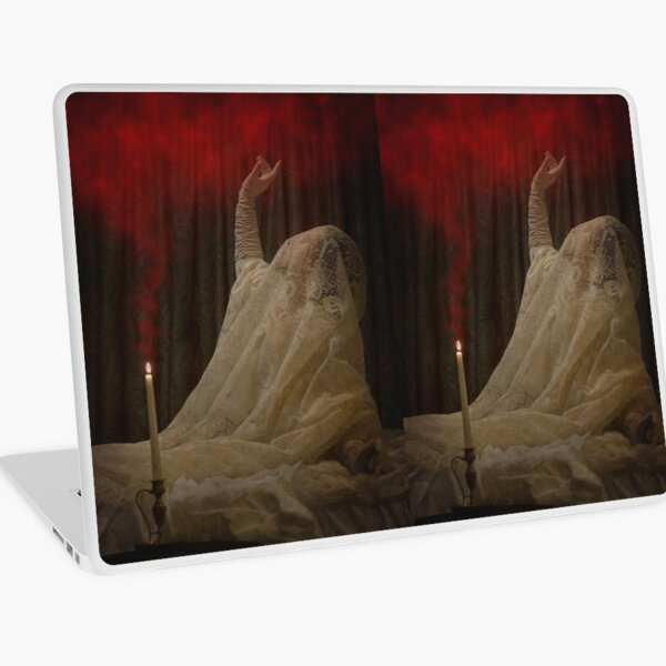 The Queen Lay Dying Of Her Own Will Laptop Skin