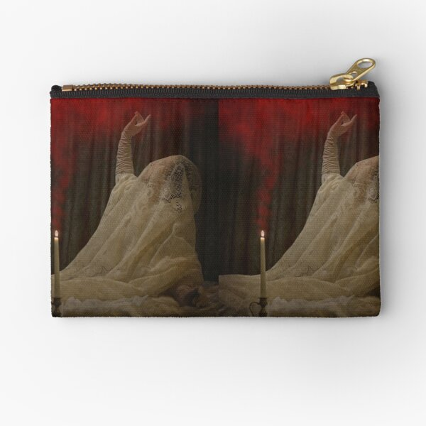 The Queen Lay Dying Of Her Own Will Zipper Pouch
