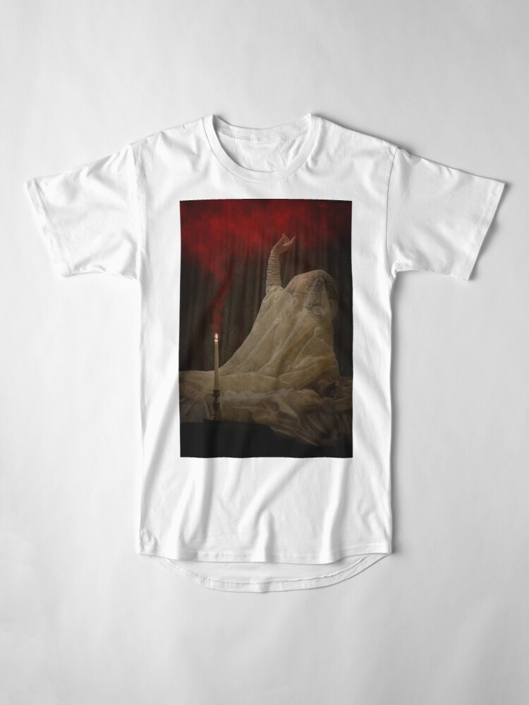 Alternate view of The Queen Lay Dying Of Her Own Will Long T-Shirt