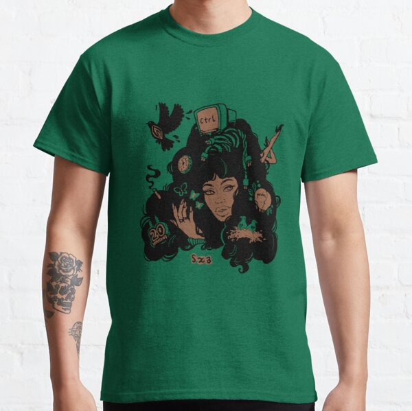 Sza Ctrl Alternate Album Art Classic T-Shirt