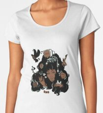 Sza Ctrl Alternate Album Art Women's Premium T-Shirt