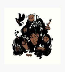 Sza Ctrl Alternate Album Art Art Print