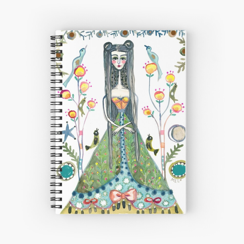 Queen Mary of Scots  Spiral Notebook