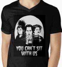 You can't sit with us. Men's V-Neck T-Shirt