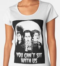You can't sit with us. Women's Premium T-Shirt